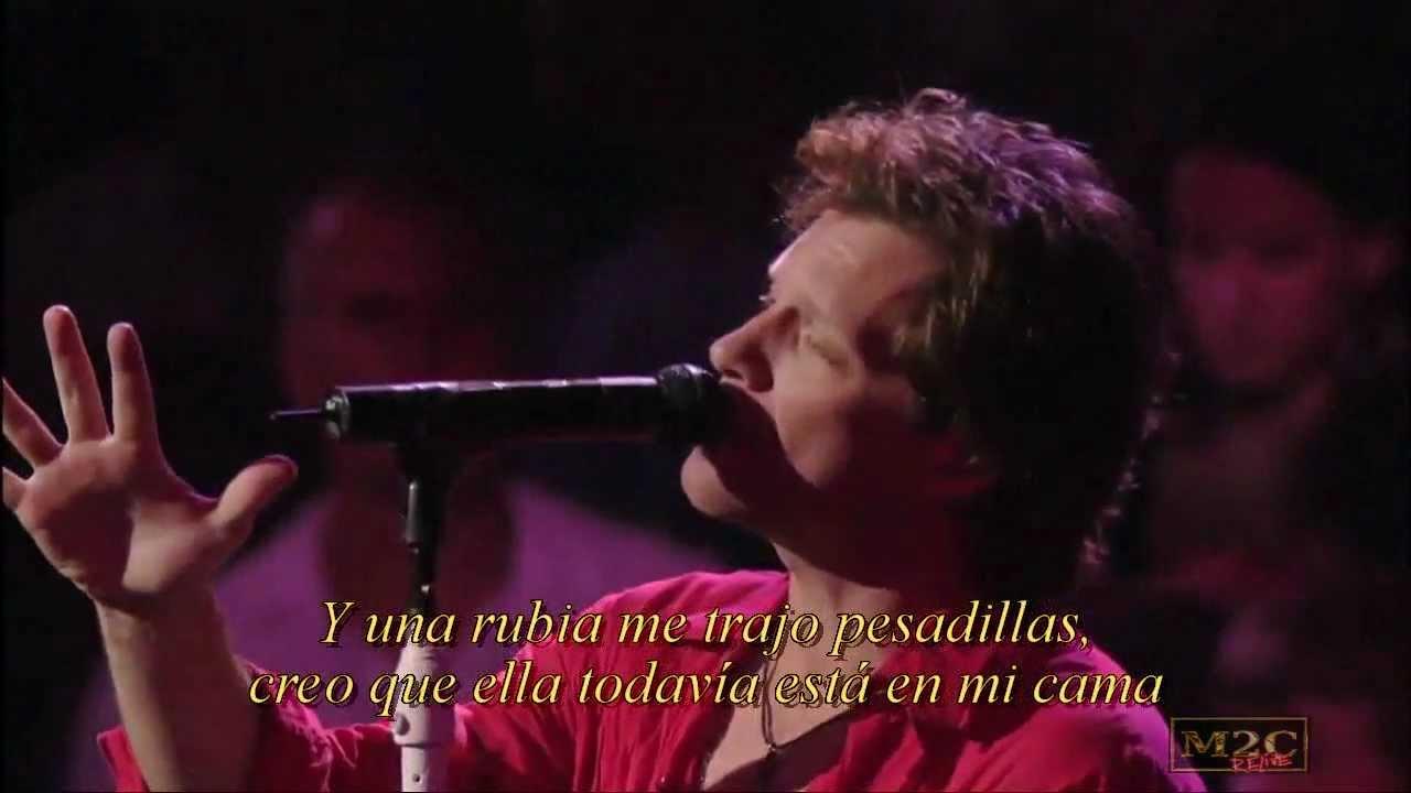 Bon Jovi Bed Of Roses Hd Hq Live Subtitulos Español Youtube