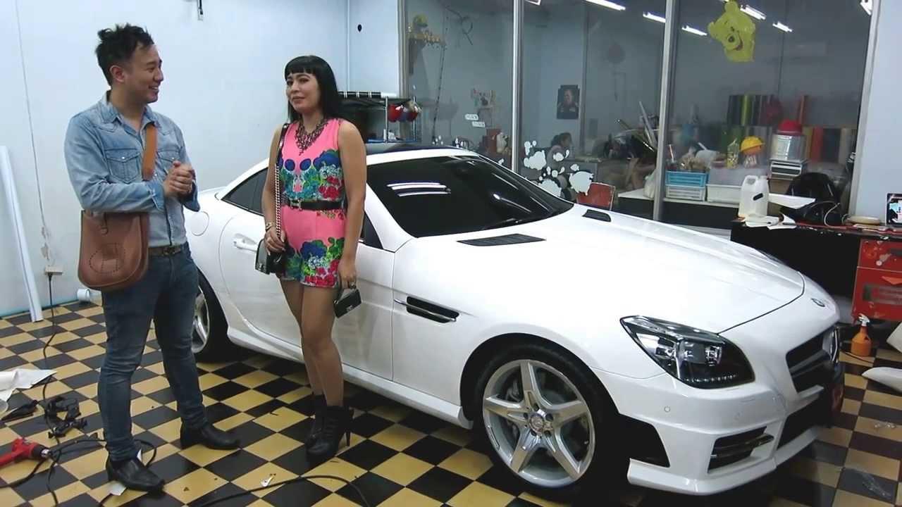 foto de TONY WRAP CAR ฟิล์มใสกันรอยสีรถ ฟิล์มเปลี่ยนสีรถ Wrapรถ Car Wrap ...