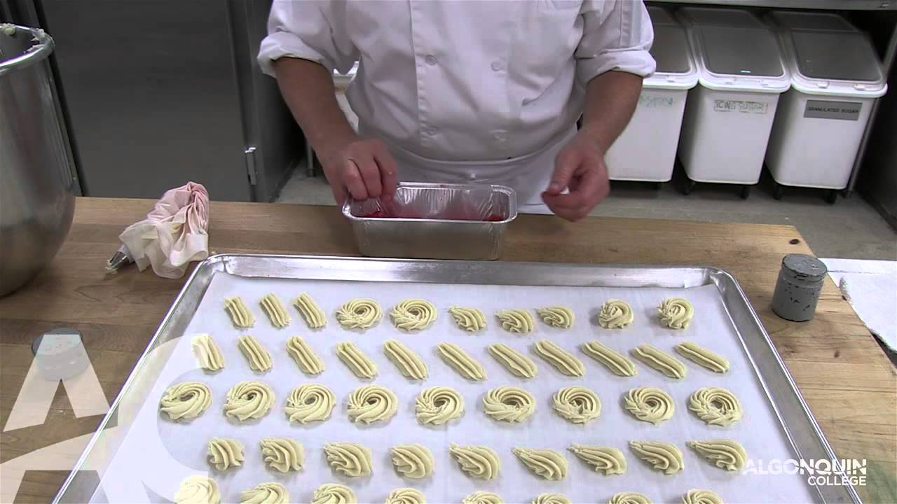 Pastry bag butter cookie recipe