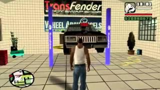 Gta San Andreas - tunando um carro