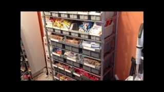 Prepper Food Storage Pantry Organization Continues In Case Of Shtf Situation! :)