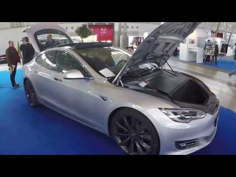 tesla model s 90d silver colour walkaround interior model 2017 youtube. Black Bedroom Furniture Sets. Home Design Ideas