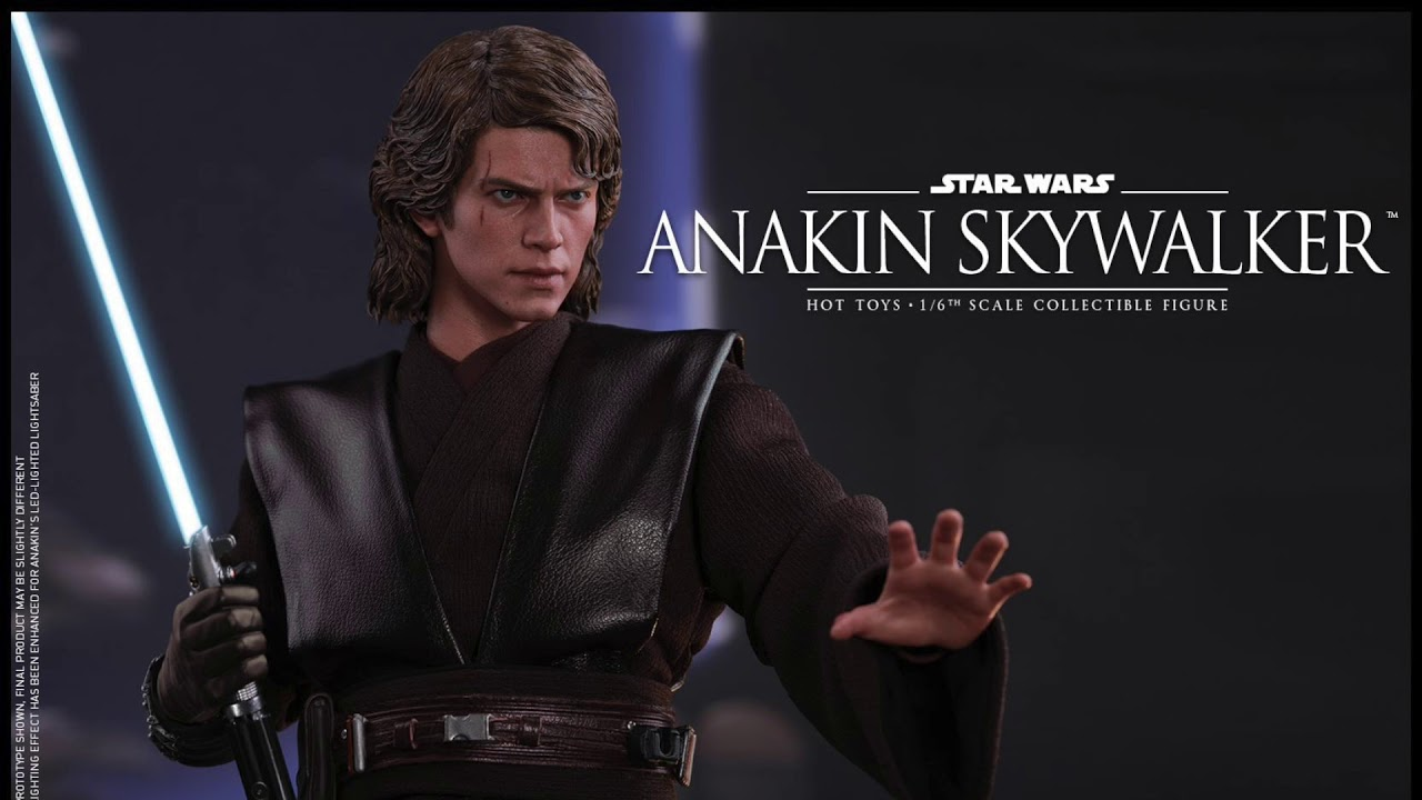 Star Wars Revenge Of The Sith Hot Toys Anakin Skywalker 1