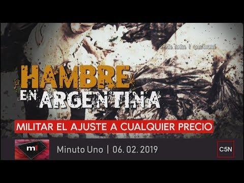 Comer basura... Hambre en argentina |Minuto Uno 06 .02. 2019
