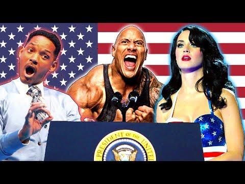 9 Famosos Que Aspiran a la Presidencia de los Estados Unidos en el 2020