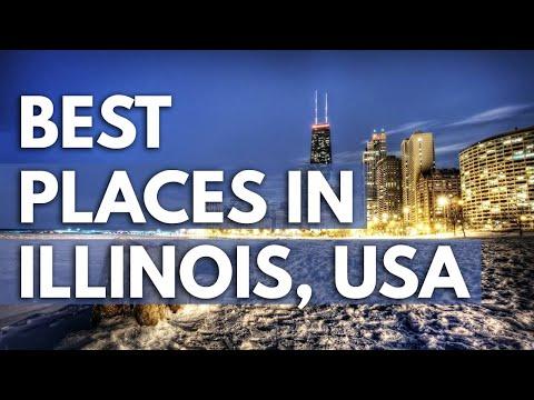 10 Best Travel Destinations in Illinois USA