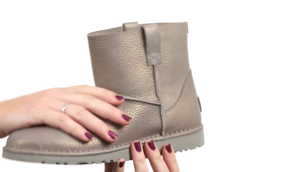 UGG - Classic Unlined Mini Metallic SKU:8806459