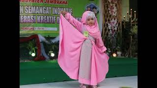 SERU LOMBA FASHION SHOW MUSLIMAH ANAK TK 2019