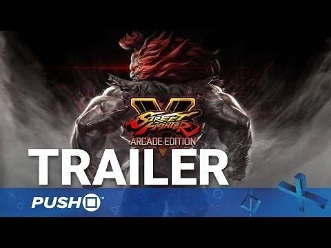 Street Fighter V: Arcade Edition PS4 Reveal Trailer | PlayStation 4