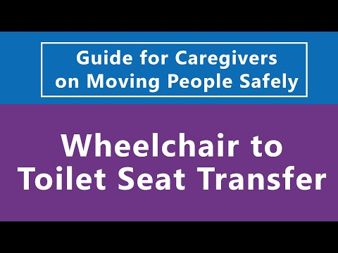Guide For Caregivers On Moving People Safely Wheelchair