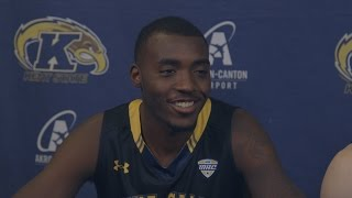 Kent State Basketball 2016 Media Day - Men's Players.