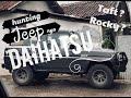 HUNTING JEEP nya DAIHATSU - TAFT or ROCKY ? / VLOG 04