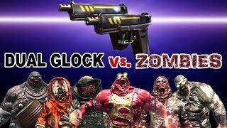 Dead Trigger 2 DUAL GLOCK Mk10 vs. Zombies HD