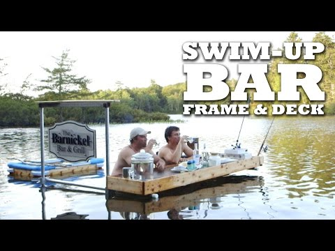 SWIM-UP BAR: Frame and Deck Build