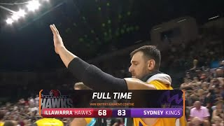 Illawarra Hawks vs. Sydney Kings - Game Highlights