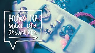 Diy Travel Jewelry Organizer