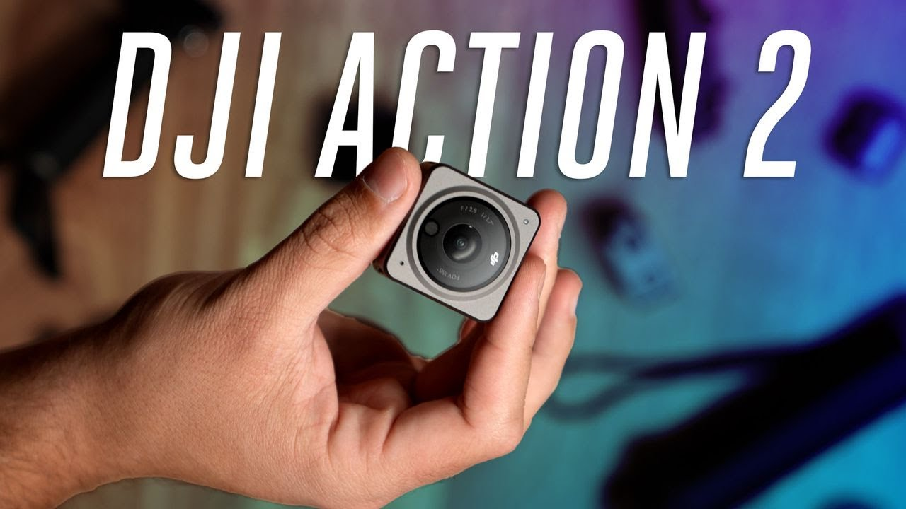 DJI Action 2 is like a modern GoPro Session with magnets #Shorts – The Verge