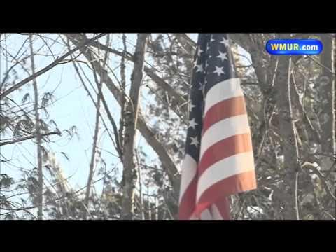Flag pole mishap