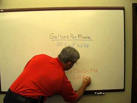 How to Calculate Gallons Per Minute - Barrow Co. Emergency Services