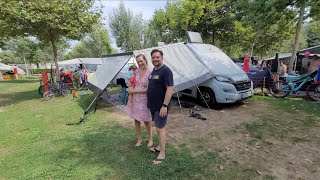Größte Campingplätze der Welt: Union Lido 2021 Italien. So ruhig trotz 1000er Familien. Hundeplatz.