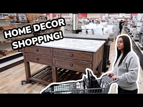 HOME DECOR SHOPPING FOR MY NEW HOUSE!