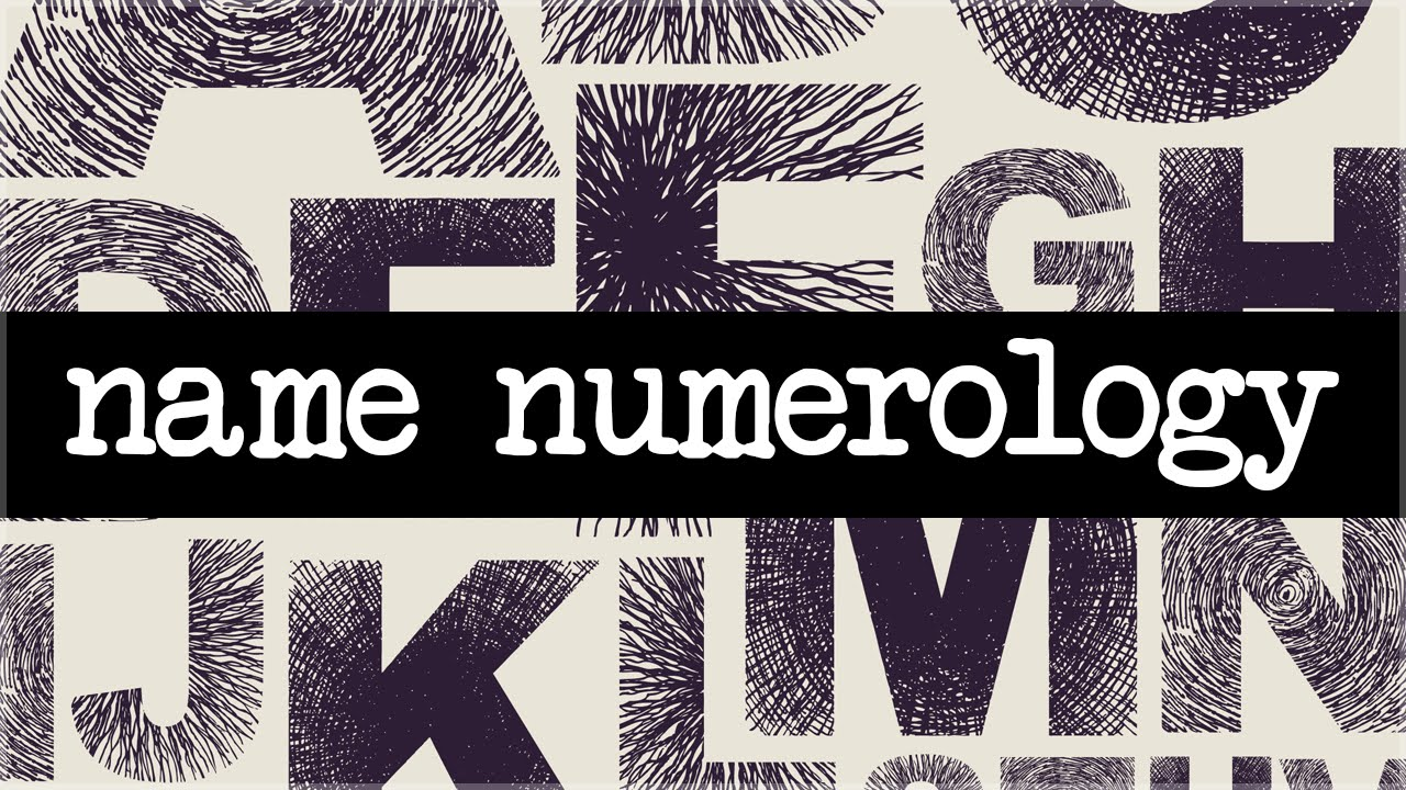 Name Numerology Chart And Meanings - Numerology Charts And Meanings