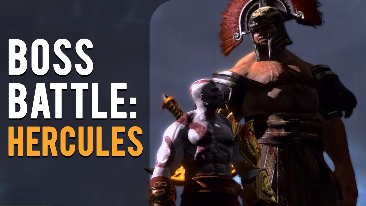 God of War 3 - VS Hercules [Boss] - YouTube