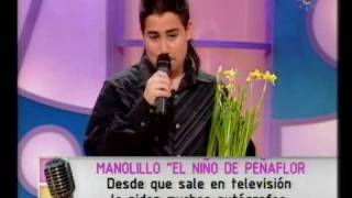 El Niño de Peñaflor El Macetero de Antonio Molina