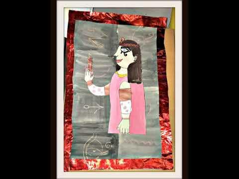 Egyptian art work KS2