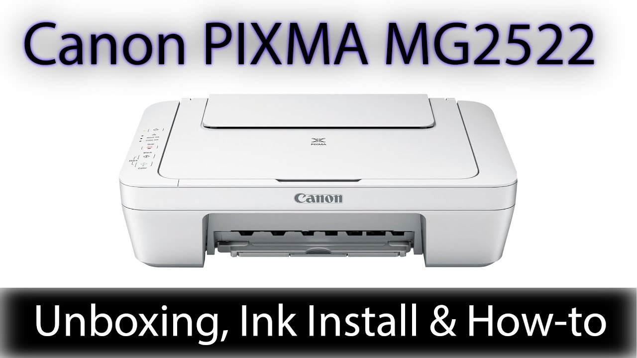 Canon Pixma MG20 Color Inkjet Printer   Also Scanner & Copier   Unboxing  for UnboxIT