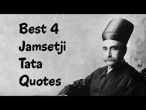 biography of jamsetji tata Jamshedji nusserwanji tata was born on march 3, 1839 - and lived up to may 19, 1904 he was a pioneer in the field of modern industry, in india contents[show] life history he was born in navsari, gujarat, india.