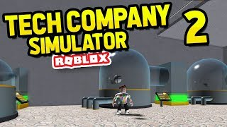 ROBLOX TECH COMPANY SIMULATOR #2
