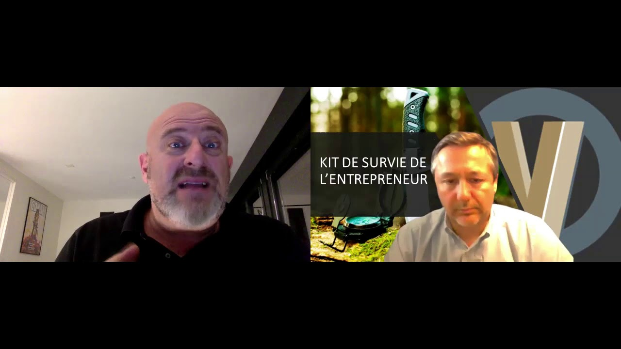 """Piero San Giorgio,spécialiste du survivalisme,auteur du livre """"Survivre à l'effondrement économique"""""""