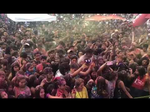 El carnaval llegó al Primavera Fan Fest con el grupo Chijra y Jasy Membi