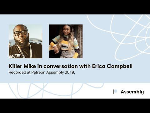Killer Mike in conversation with Erica Campbell