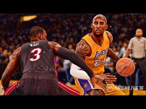 NBA LIVE 16 - Official Leaked Kobe Bryant Game Winner Gameplay Footage