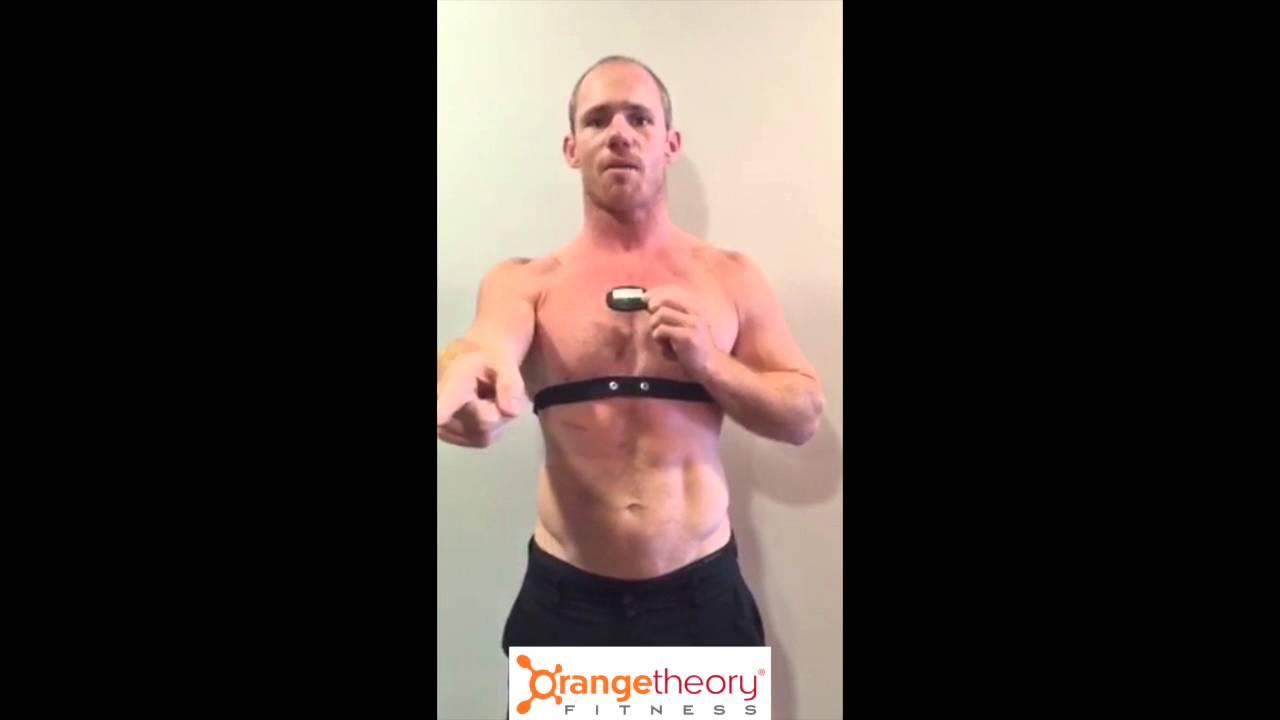 How to orangetheory wear heart monitor foto