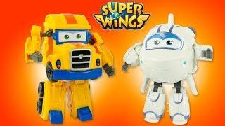Super Wings Saison 2 ASTRA et POPPA Nouveaux Personnages Robots Jouets Review 출동슈퍼윙스 신제품 장난감 - 비행기