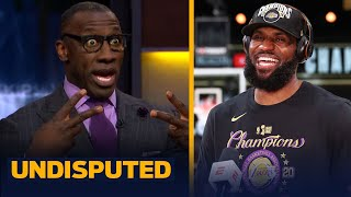 LeBron's Lakers won free agency & set themselves up to repeat - Shannon Sharpe | NBA | UNDISPUTED