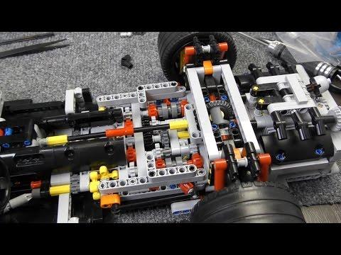VLOG #6 Дура на соревнованиях, копия Lego Porsche 911 GT3, делаем цепи для колёс!