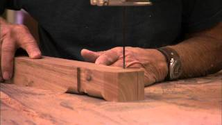 Woodworker Sam Maloof Works In His Studio