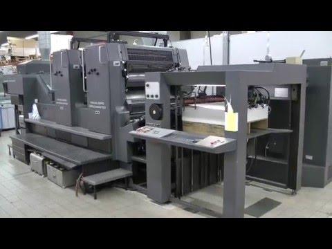 Heidelberg Speedmaster CD 102 Z IST UV, age 1994 - offset printing machine