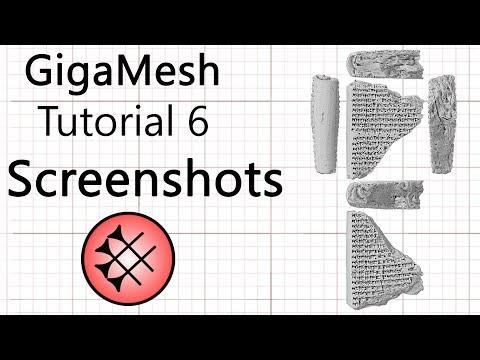 GigaMesh Tutorial 06 - Screenshot Rendering thumbnail