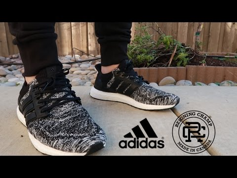 0c44041cdee29 ADIDAS X REIGNING CHAMP ULTRA BOOST REVIEW + ON FEET - YouTube