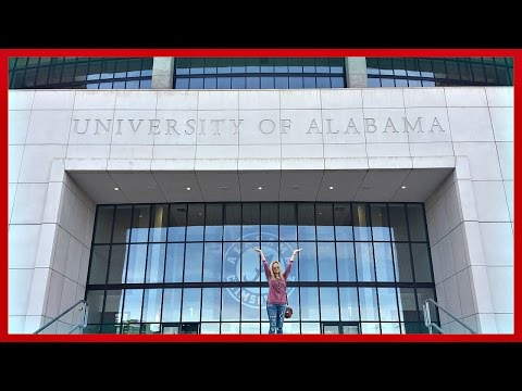 TOURING THE UNIVERSITY OF ALABAMA