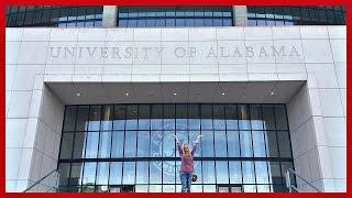 TOURING THE UNIVERSITY OF ALABAMA