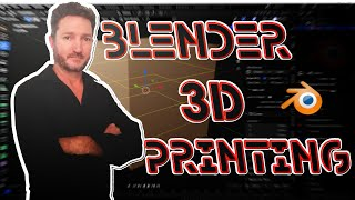 How to Setup Blender for CAD Accurate 3D printing - Lesson 1
