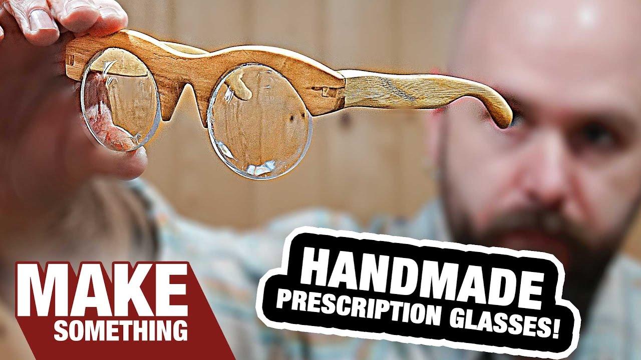 554e3d6db5 Making Handmade Prescription Eyeglasses From Scratch. Even the Lenses!