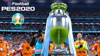 PES 2020 ● UEFA EURO 2020 OFFICIAL TROPHY ● Germany Vs. France ● Final Match Prediction | HD