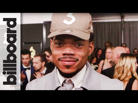 Chance The Rapper: Red Carpet After Winning First Grammy for Best Rap Performance   Billboard